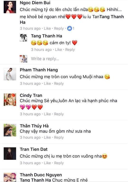 Tang Thanh Ha sinh con thu hai hinh anh 2