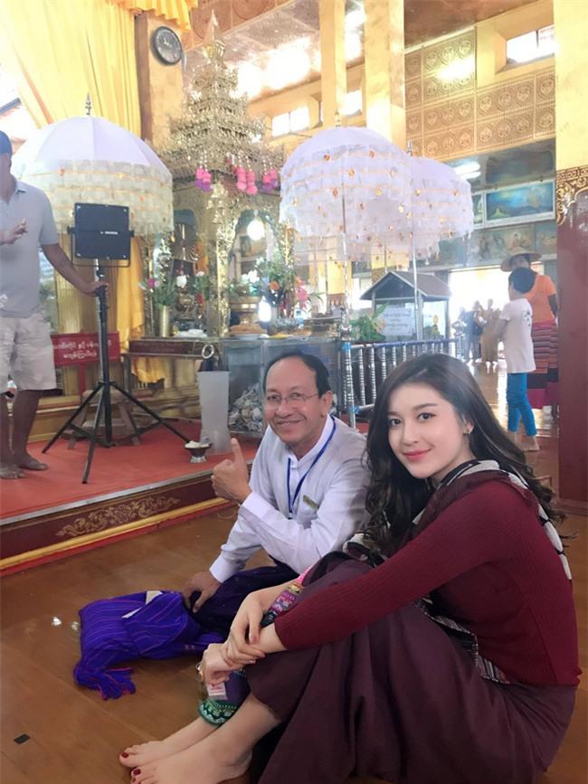 Từ Myanmar: Á hậu Huyền My bức xúc lên tiếng chuyện để mẹ kéo vali  - Ảnh 3.