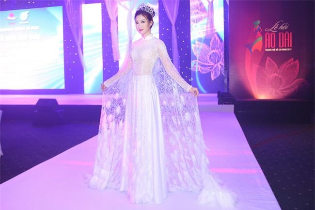 """Hoa Hậu Mỹ Linh xuất hiện ấn tượng với hình ảnh gợi nhớ """"Công chúa Mỵ Châu"""" - Ảnh 3."""