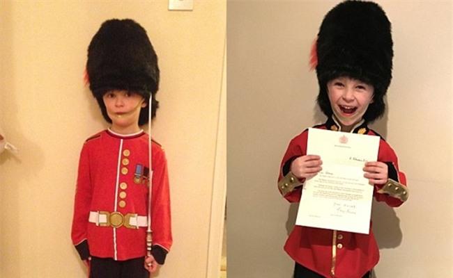Bé trai 6 tuổi gửi thư xin làm cận vệ hoàng gia, Nữ hoàng Anh bất ngờ hồi đáp - Ảnh 2.