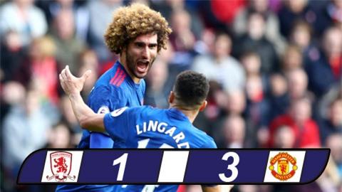 Hủy diệt Middlesbrough, M.U vượt mặt Arsenal lên thứ 5