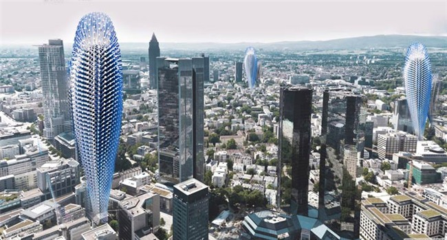Bản thiết kế ấn tượng tòa nhà cao tầng có khả năng lọc không khí ô nhiễm - 1