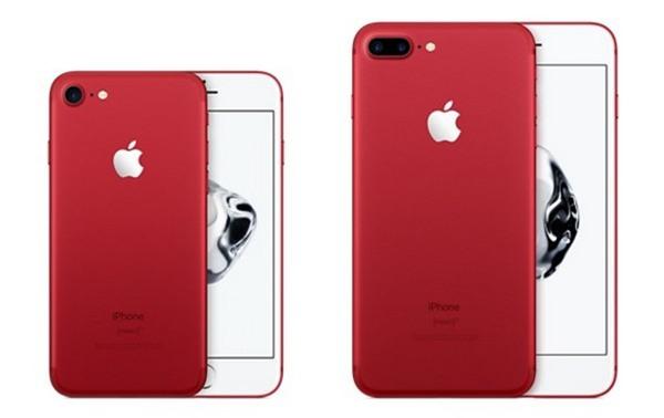 iPhone 7 và 7 Plus sẽ có thêm tùy chọn màu đỏ cực kỳ nổi bật