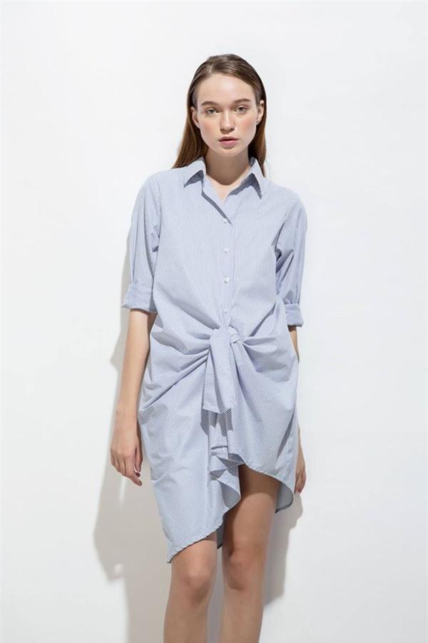 Thời tiết mát mẻ, nàng công sở tha hồ đẹp xinh với đủ kiểu váy sơmi đến sở làm mỗi ngày - Ảnh 16.