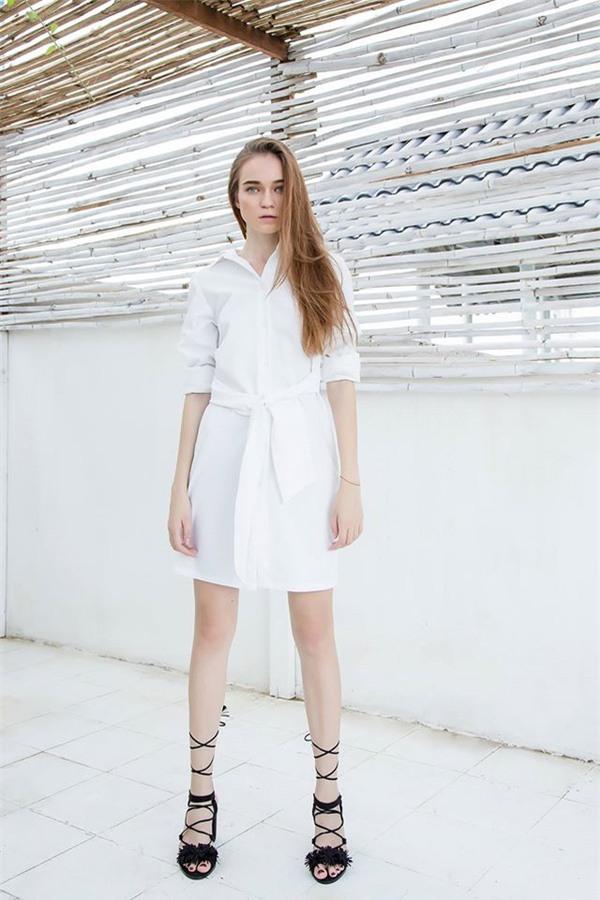 Thời tiết mát mẻ, nàng công sở tha hồ đẹp xinh với đủ kiểu váy sơmi đến sở làm mỗi ngày - Ảnh 17.