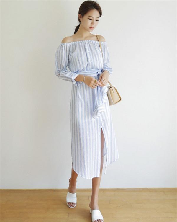 Thời tiết mát mẻ, nàng công sở tha hồ đẹp xinh với đủ kiểu váy sơmi đến sở làm mỗi ngày - Ảnh 19.