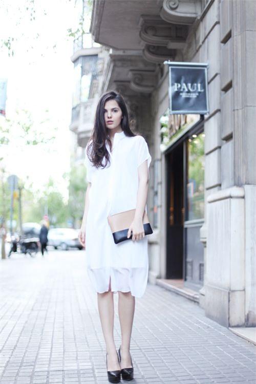 Thời tiết mát mẻ, nàng công sở tha hồ đẹp xinh với đủ kiểu váy sơmi đến sở làm mỗi ngày - Ảnh 4.