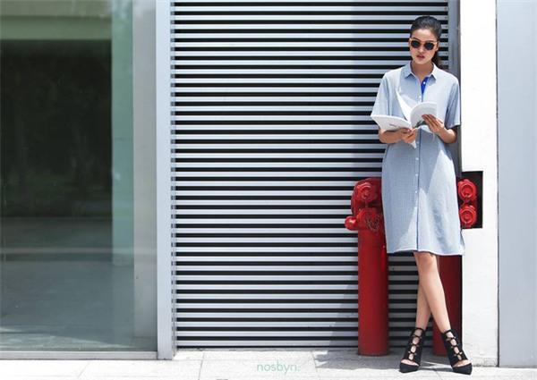 Thời tiết mát mẻ, nàng công sở tha hồ đẹp xinh với đủ kiểu váy sơmi đến sở làm mỗi ngày - Ảnh 6.