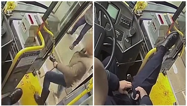 Nhắc nhở hành khách ngừng hút thuốc, tài xế xe buýt bị đâm liền 2 nhát vào chân - Ảnh 3.