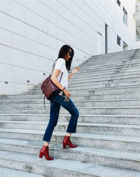 Điểm mặt 4 kiểu quần jeans đang được kiều nữ Việt kết nhất - Ảnh 1.