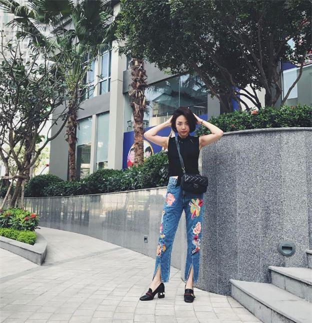 Điểm mặt 4 kiểu quần jeans đang được kiều nữ Việt kết nhất - Ảnh 2.