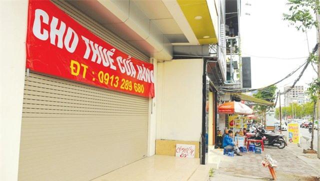 nhà mặt phố, Hà Nội, thuê cửa hàng, thuê nhà, vỉa hè, giá thuê nhà