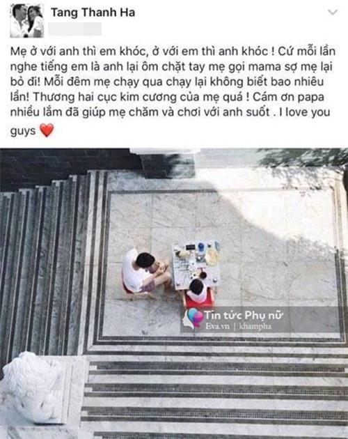 """con gai tron 10 ngay tuoi, tang thanh ha lan dau tien khoe anh """"cong chua"""" nho - 4"""