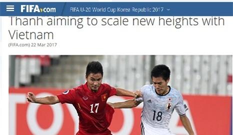 FIFA gọi Trần Thành là người làm nên lịch sử