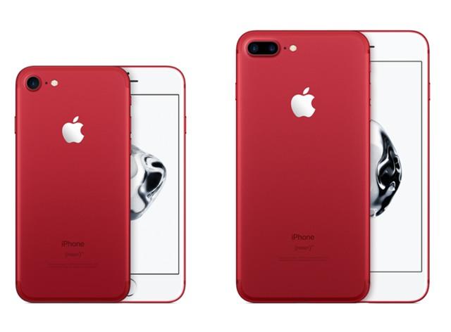 Apple vừa mới ra mắt iPhone 7/7 Plus phiên bản màu đỏ