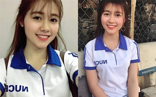 Nữ sinh ĐH Xây Dựng Hà Nội bất ngờ nổi tiếng vì quá xinh đẹp - Ảnh 1.