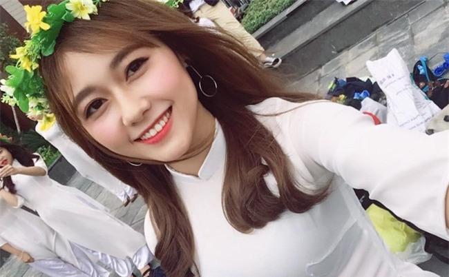 Nữ sinh ĐH Xây Dựng Hà Nội bất ngờ nổi tiếng vì quá xinh đẹp - Ảnh 3.