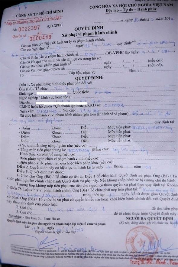 Quach Tuan Du duoc giam 200.000 dong tien phat dau xe lan chiem via he hinh anh 2