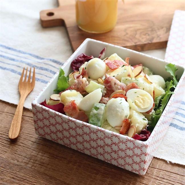 Salad khoai tây làm thế này ai không mê mới lạ - Ảnh 8.