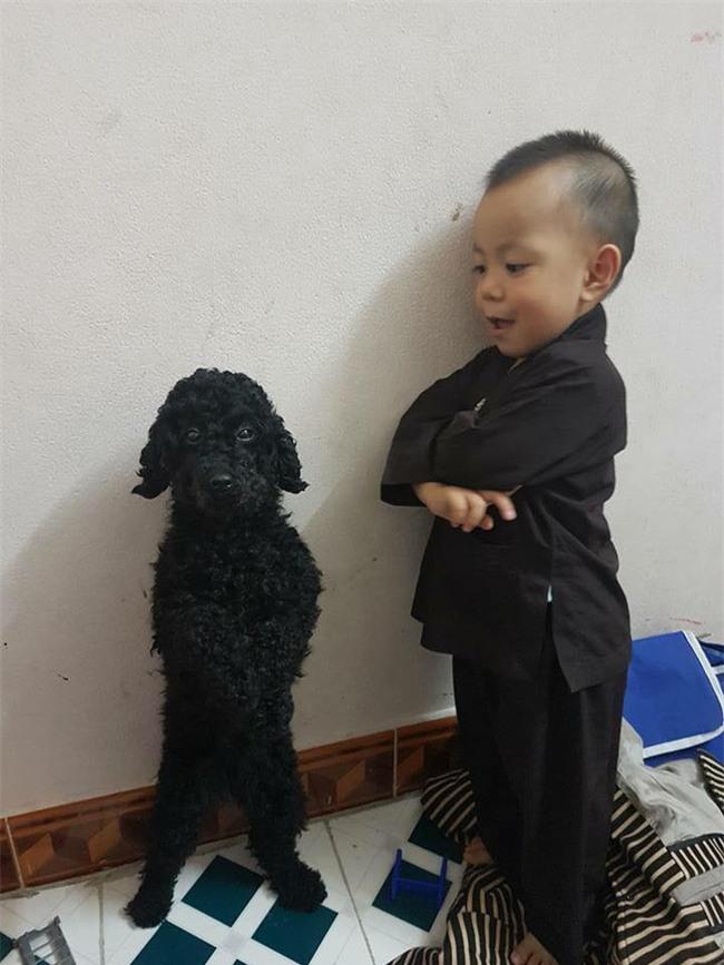 Bức ảnh về tình chị em của cô chó 3 tuổi và cậu nhóc 2 tuổi đốn tim dân mạng - Ảnh 3.