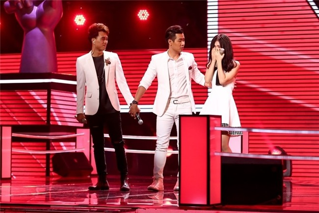 Hot girl Han Quoc 16 tuoi cua The Voice bat khoc khi chien thang hinh anh 2