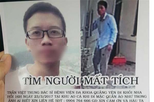 1-anh Tran Viet Trung da tro ve nha sau 3 ngay tim kiem
