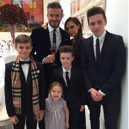 Gia đình Beckham luôn khiến công chúng phải ngưỡng mộ