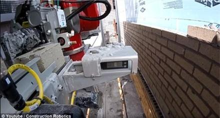 Rô-bốt lát gạch xây tường nhanh gấp 6 lần con người - 2