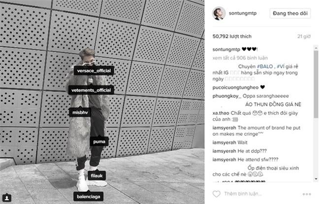 Trang phuc cua Son Tung M-TP tai Seoul Fashion Week gia bao nhieu? hinh anh 1