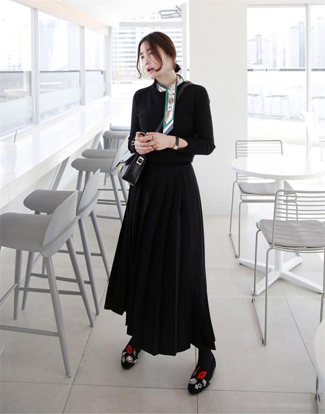 Nắng lên một cái là cô nàng điệu đà tha hồ diện những mẫu chân váy xòe bồng bềnh thế này - Ảnh 18.