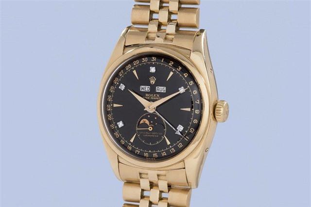 đồng hồ Rolex, vua Bảo Đại, bán đấu giá, đồng hồ, đồng hồ cổ