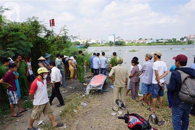 Tìm thấy thi thể bé trai 11 tuổi bị nước cuốn trôi trên sông Sài Gòn - Ảnh 3.