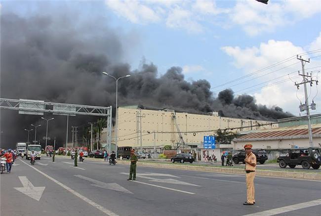 cháy công ty may, khu công nghiệp Cần Thơ, Cháy lớn ở Cần Thơ
