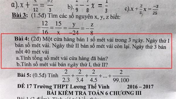 Bài toán hóc búa, người lớn đau đầu chưa giải nổi - Ảnh 1.