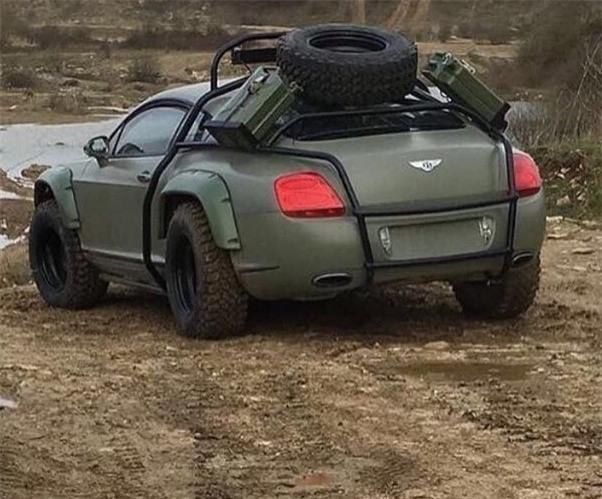 Hinh anh sieu xe Bentley off-road gay chu y hinh anh 1