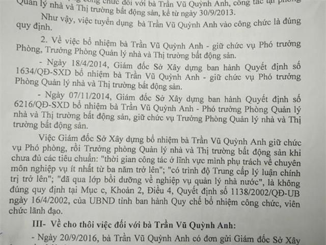 Kết luận thanh tra của tỉnh Thanh Hóa cho thấy các quyết định bổ nhiệm bà Quỳnh Anh thời điểm đó đều do ông Ngô Văn Tuấn ký.