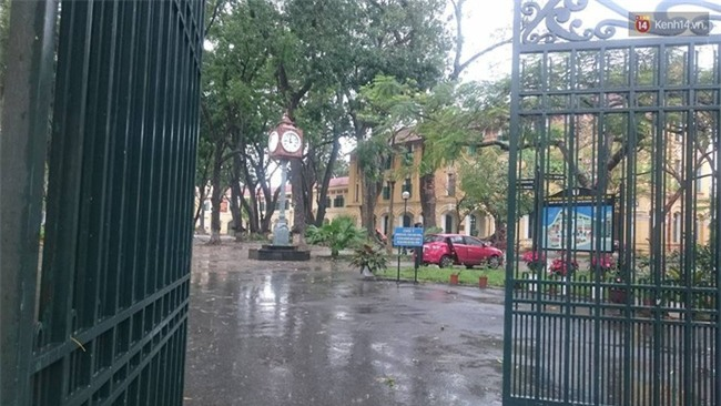 Hà Nội: Cây đổ sau mưa dông, nữ sinh trường Chu Văn An gãy cả tay chân - Ảnh 2.