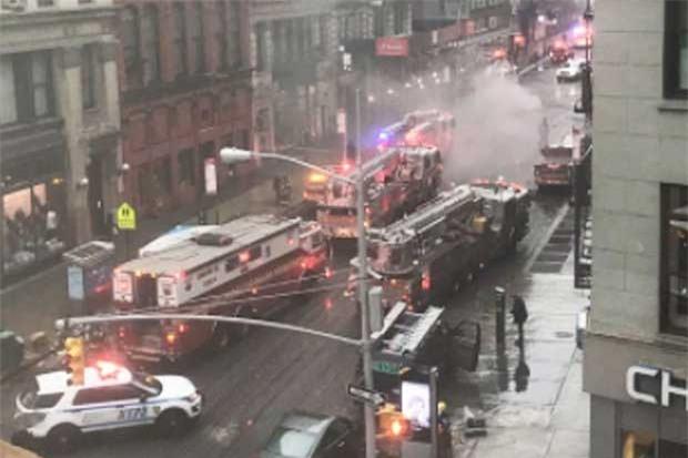 Nổ lớn, New York , nổ ở New York