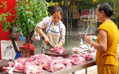 thịt lợn nhiễm khuẩn, khuẩn tiêu chảy, thịt lợn, cục thú ý, cơ sở giết mổ
