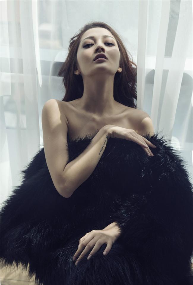 Bảo Anh khoe vai trần với váy ngủ nóng bỏng - Ảnh 6.