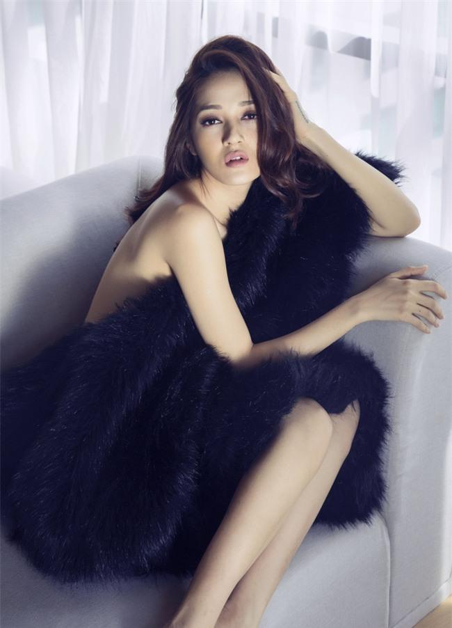 Bảo Anh khoe vai trần với váy ngủ nóng bỏng - Ảnh 7.