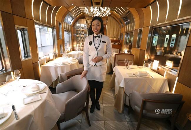 Khung cảnh xa hoa bên trong khách sạn 5 sao di động trên đường ray Nhật Bản - Ảnh 5.