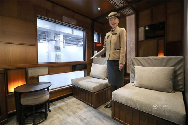 Khung cảnh xa hoa bên trong khách sạn 5 sao di động trên đường ray Nhật Bản - Ảnh 6.
