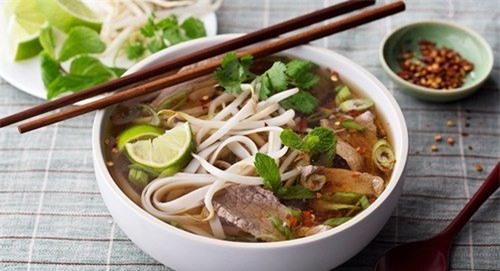 phở bò, Hà Nội, món phở, quán phở, món ăn
