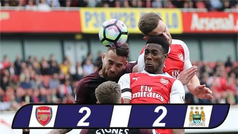 Thủ tệ hại, Arsenal và Man City chia điểm tại Emirates