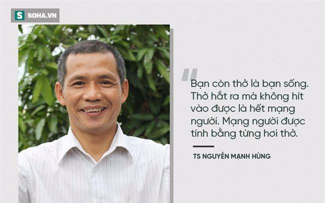 TS Nguyễn Mạnh Hùng: Rất nhiều người đang ngủ sai giờ. Họ không biết đường tới nghĩa địa dần ngắn lại - Ảnh 3.