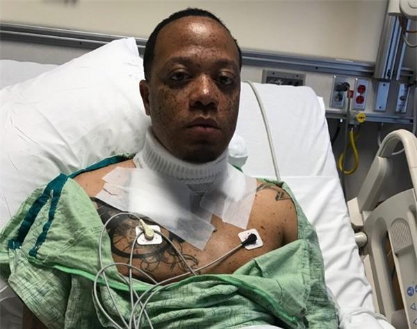 Wiley Day suýt chết do bị giật điện từ chiếc smartphone đang cắm sạc