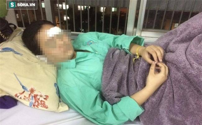 Vụ nữ sinh bị 20 thanh niên hành hung: Kẻ lạ mặt nhắn tin dọa cắt gân - Ảnh 1.