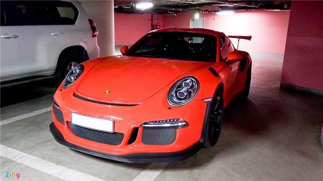 Sieu xe Porsche 911 GT3 RS doc nhat Viet Nam xuong pho hinh anh 1
