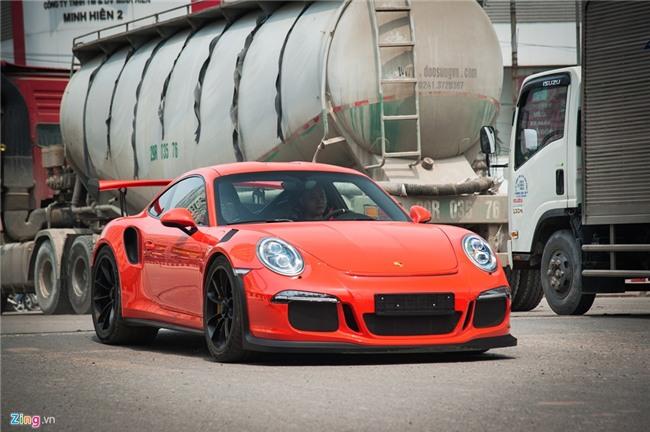 Sieu xe Porsche 911 GT3 RS doc nhat Viet Nam xuong pho hinh anh 6